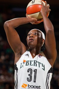 New York Liberty center Tina Charles