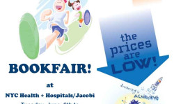 Bookfair Fundraiser by the Jacobi Medical Center Auxiliary