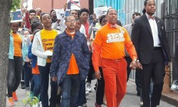 BRONX ELECTED OFFICIAL, YOUNGSTERS, COMMUNITY LEADERS UNITE AGAINST GUN VIOLENCE