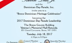 Bronx Dominican Heritage celebration, July 18