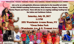 FIFTH ANNUAL BOLLYWOOD IN THE BRONX