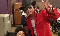 Michael Jackson Look-Alike Entertains Beth Abraham Residents [PHOTOS]