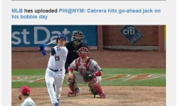 Mets Cabrera hits go-ahead jack on his bobblehead day