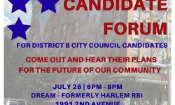 Community Voices Heard City Council Forum, 7/26