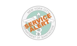 Sanitation Service Alerts for Election Day and Veterans Day