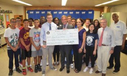 Senator Klein announces a $152,000 grant for Sports & Arts in Schools Foundation