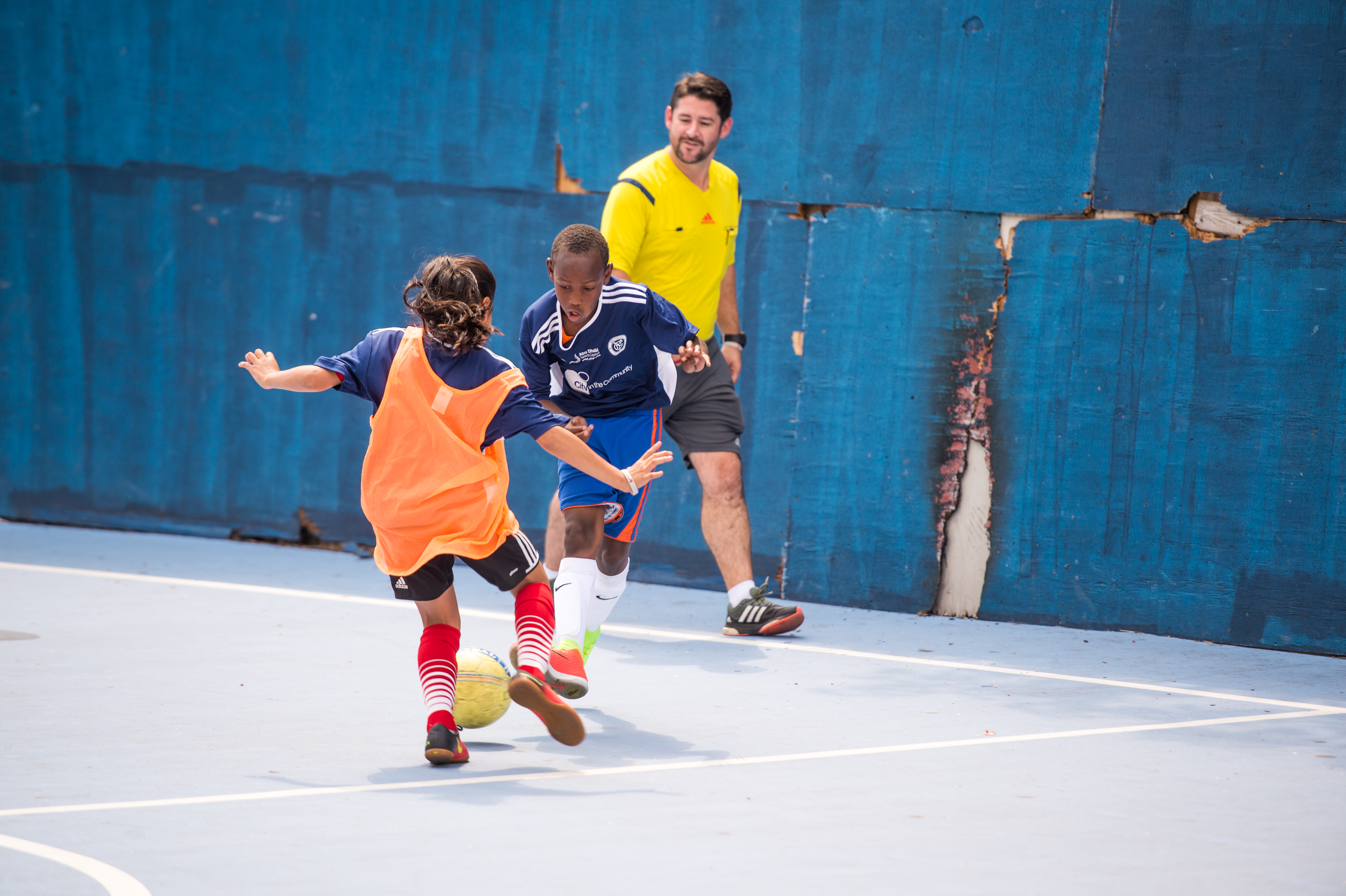 NYCFC, UAE Consulate General Join South Bronx Soccer Festival
