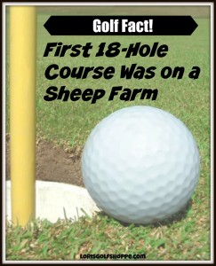 America's first 18-hole golf course constructed on a sheep farm in Downer's Grove. Pinterest