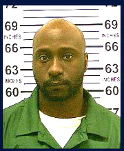 A Department of Corrections photo of gunman Alexander Bonds, who was shot dead after fatally shooting an NYPD police officer.
