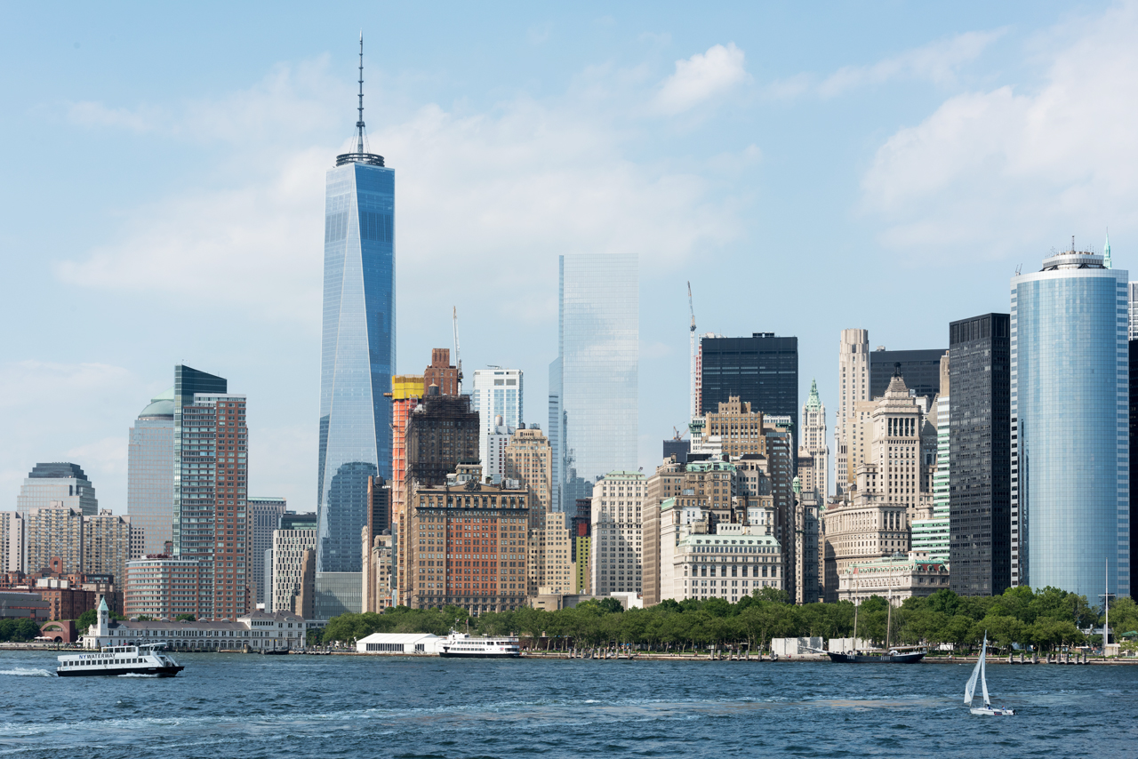 Lower Manhattan Skyline; Manhattan
