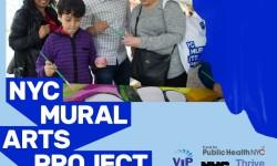 NYC Mural Arts Ribbon Cutting at CS 211X