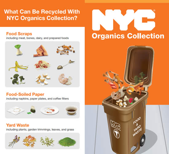 Brown Nyc Organics Bins Being Delivered To Bronx Cb S 10