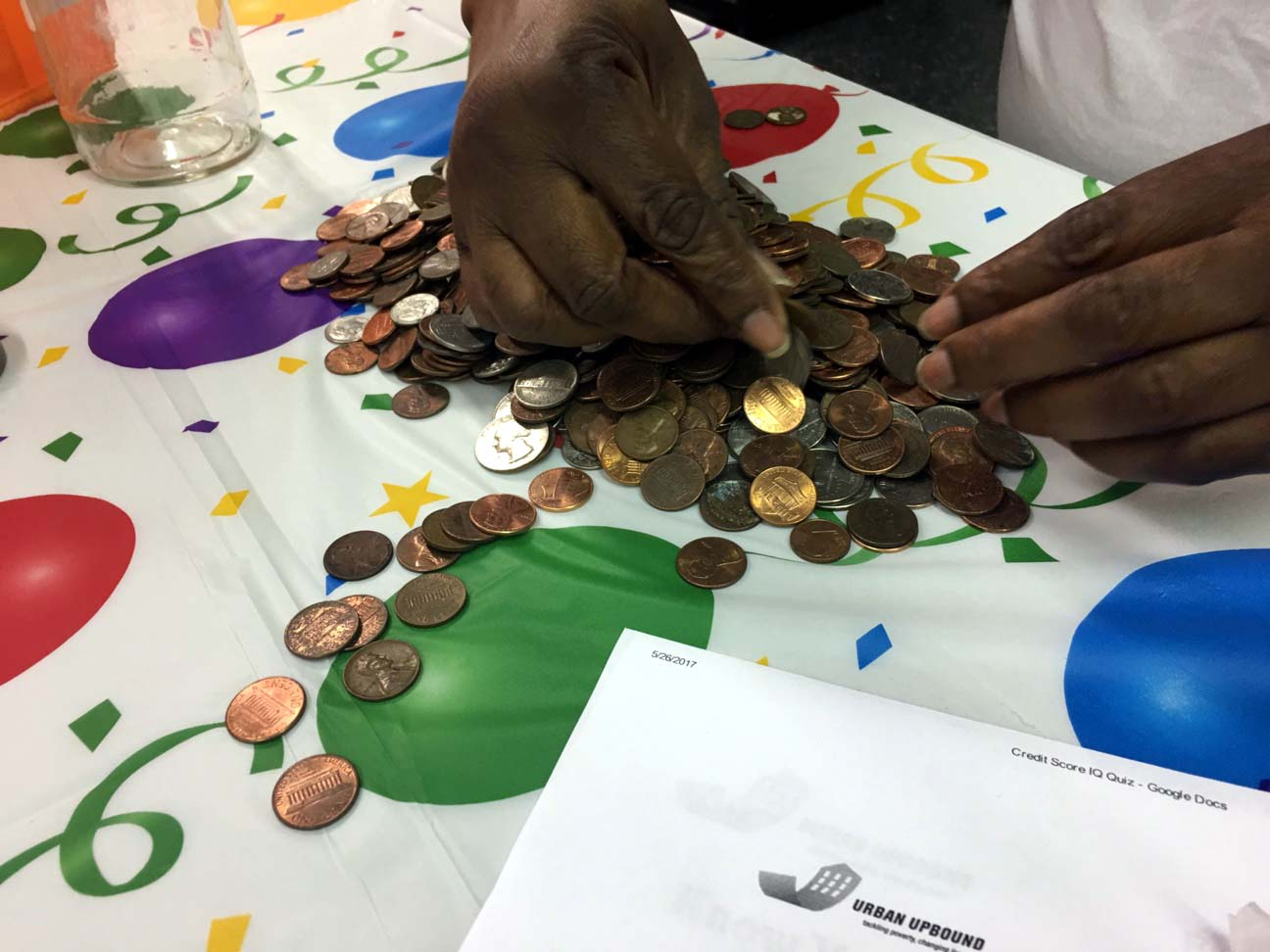 NYCHA residents are saving money every month by simply collecting the change they bring home at the end of a day. Photo: NYCHA on Instagram