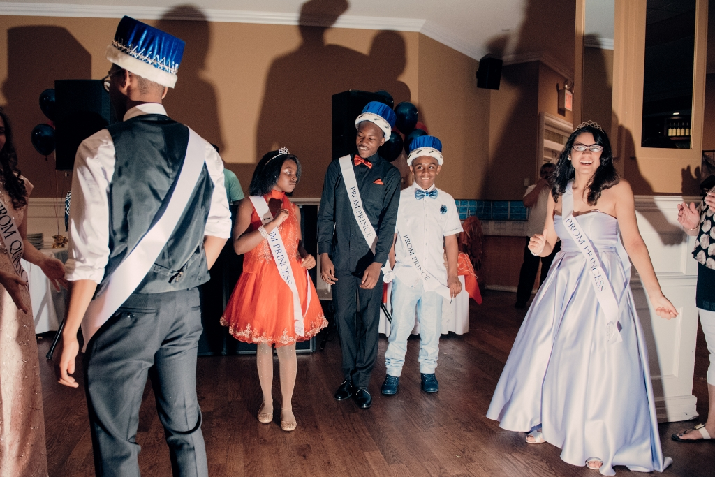 New York Institute for Special Education students dance the night away during the school's prom on June 1, which took place at the Bronx landmark Frankie & Johnnie's Pines restaurant. (Photo Credit: Vincent Tullo)