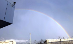 Rainbow Over Westchester Square