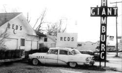 Red's Giant Hamburg - Claimed to be 1st Drive-Through Restaurant