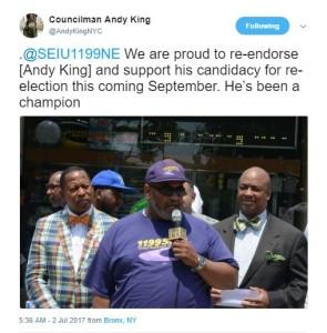 Twitter @AndyKingNYC