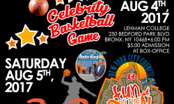 Shoot Hoops Not Guns: Celebrity Basketball Game Presented by Councilman King – August 4th