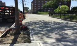 NYC DOT, NYCHA, AND COUNCIL MEMBER KING UNVEIL NEW SIDEWALKS AT GUN HILL HOUSES IN WILLIAMSBRIDGE