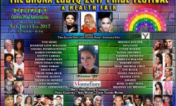 The Bronx LGBTQ Pride Festival and Health Fair – July 15th