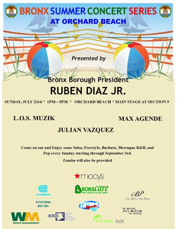 Bronx Summer Concert Series