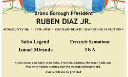 Bronx Summer Concert Series at Orchard Beach