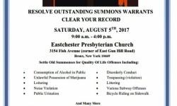 Bronx DA Clark 'Another Chance' Event
