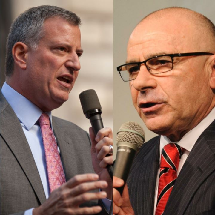 Tonight is the first debate for the Democratic mayoral primary featuring Mayor Bill de Blasio and challenger Sal Albanese.