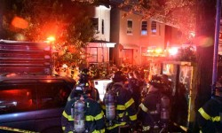 Photos by EDWIN SOTO  At around 10:40 PM Tuesday a fire breaks out in a 2 story private house at 3138 Decatur Ave. &  204th St. 4 injuries were reported