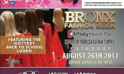 Bronx Fashion Week is Here with Back to School Fashion Showcase – August 26