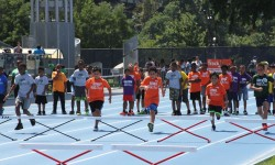 2,000 NYC Kids Competed in Track & Field Events… Javelin, Shot Put, Long Jump, Runs, Relays, Hurdles and more!
