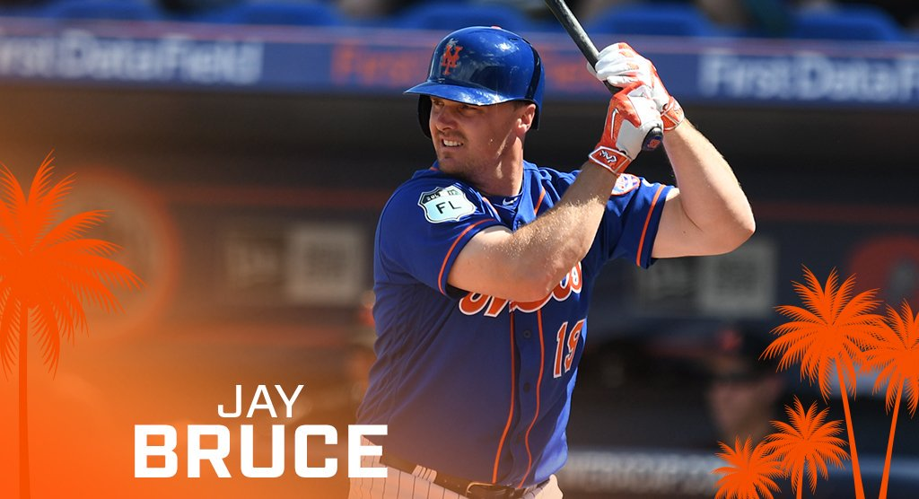 Former NY Mets player Jay Bruce. Credit: Twitter
