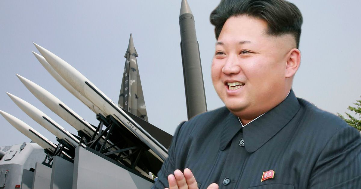 South Korea warns Kim Jong-un of 'searing consequences' if he launches long-range missile - Mirror Online