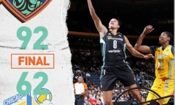 Make that 8 in a row! Liberty defeat Chicago Sky, 92-62. Twitter