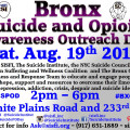 NYC_Bronx_Suicide_Opioid_Awareness_Outreach_Day_Aug_19th_2017 copy