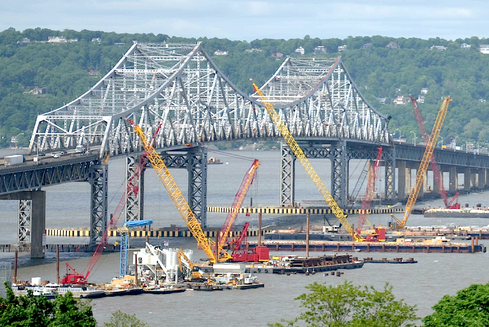 tappan zee bridge project The magazine-quality tappan zee hudson river crossing project (nnyb) newsletters memorialize the project and help explain what goes into building a mega bridge of.
