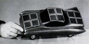 The first Solar-powered  car was developed by the General Motors Corporation.
