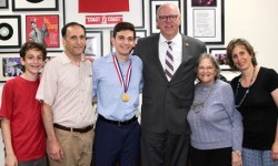 Chairman Crowley Congratulates Presidential Scholar in the Arts from Sunnyside, Queens