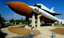 Huntsville U. S. Space & Rocket Center - Past, present and future of space exploration.  Demonstrations, hands-on exhibits, IMAX movie. Space Camp Training Center. Take a pine-tingling trip on the Space Shot.