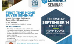 Bronx Chamber of Commerce and Mid-Island Mortgage Corporation presents a Free Seminar for First-Time Home Buyers