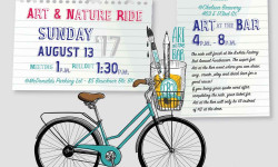 Art & Nature Ride Followed by Art at the Bar for BXArts Factory – August 13th