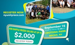 3rd annual New York Unity Race, September 16