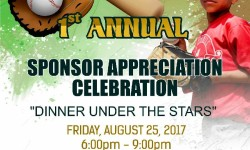 Castle Hill LL Sponsor Appreciation Dinner, August 25