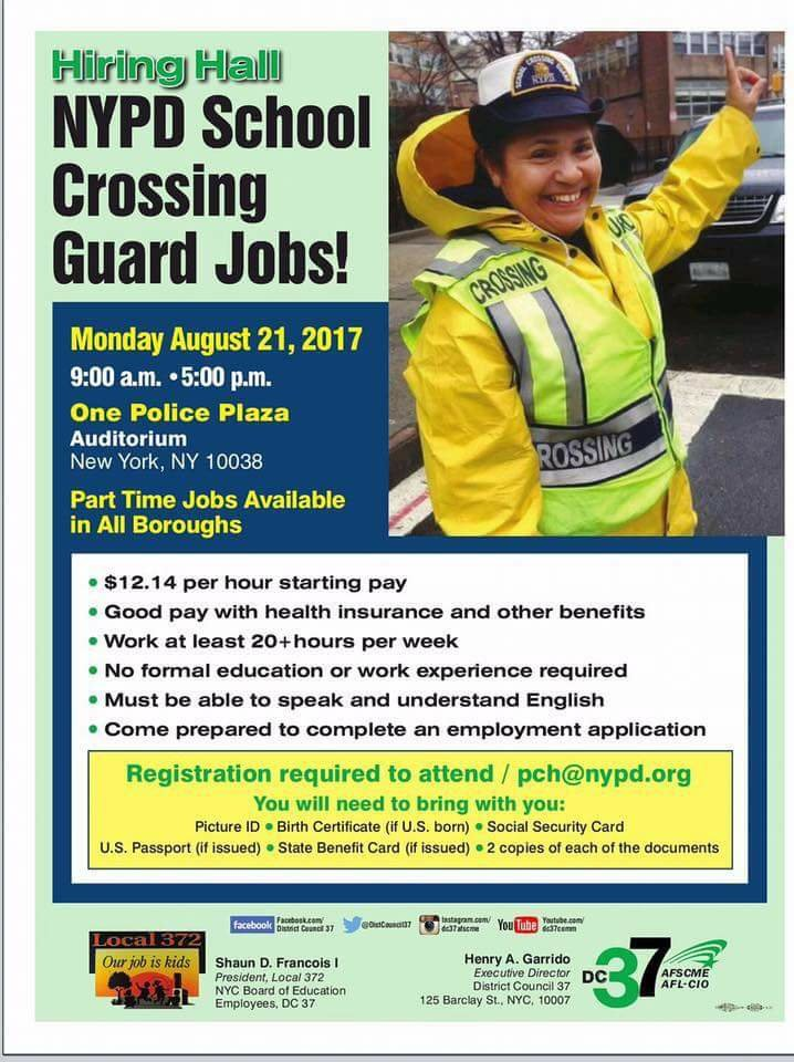 Be A School Crossing Guard