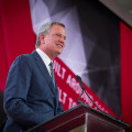 NYC Mayor de Blasio joins former Mayor Bloomberg and Governor Cuomo at a ribbon cutting ceremony for the New Cornell Tech school on Roosevelt Island on Wednesday, September 13, 2017. Edwin J. Torres/Mayoral Photography Office.