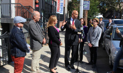 Bronx Borough President Ruben Diaz Jr. and New York City Council Speaker Melissa Mark-Viverito announced $500,000 in joint capital funding towards the expansion of Pregones Theater in the South Bronx at a press conference on Friday, September 8, 2017
