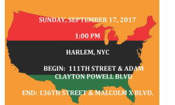 Mayor de Blasio and First Lady McCray will deliver remarks and march in the African American Day Parade.
