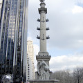 Columbus statue in Columbus Circle, Manhattan. Credit: NYCParks.gov