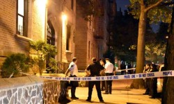 Photos by EDWIN SOTO 347-640-7445 on Saturday at around 11:05 pm a male was shot in the hands at 2167 Cruger Ave. between Lydig Ave. & Pelham Pkwy. South was taken to Jacobi Hospital. 3 Men fled the scene in a green Jeep Cherokee on Pelham Pkwy. South. unknown motive of shooting & police are investigating.