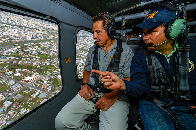 Governor Cuomo went to Puerto Rico to provide emergency rellef supplies at the official request of Governor Ricardo Rosselló. Credit: Darren McGee/Office of Governor Andrew M. Cuomo
